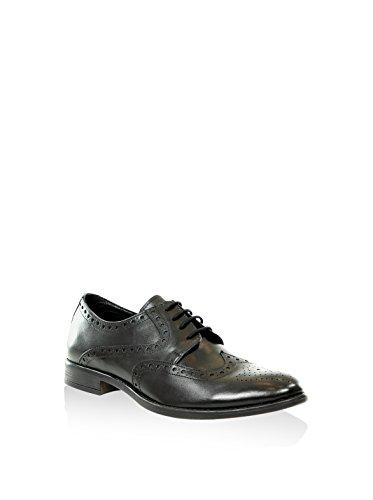 SERGIO RIZZI , Chaussures de ville à lacets pour homme Noir