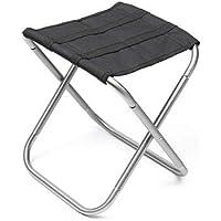 BaBaSM Praktisch Klappstühle Outdoor, Outdoor Tragbare Aluminium Klappstuhl Outdoor Camping Picknick Sitzhocker