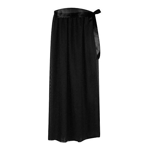 f43cc0f6c53c3 Ladies Bikini Cover Up Swimwear Sheer Beach Maxi Wrap Skirt Sarong Pareo  Dress (Black) - Buy Online in Oman.