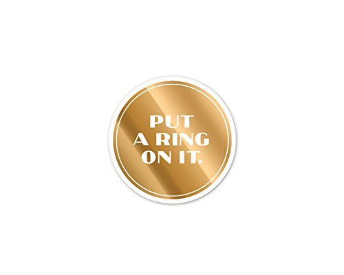 easy-tiger-gold-foil-heavyweight-paper-coasters-set-of-8-put-a-ring-on-it-by-easy-tiger