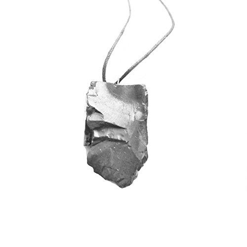 Best Elite Schungit Anhänger, Energie Kristall, Wurzel-Chakra Stone von karelische Heritage Company PE24 Heritage-crystal-crystal