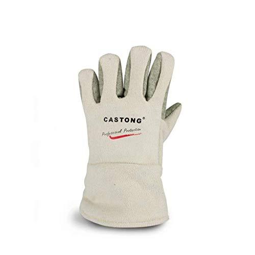 BMY Handschuhe Professional Hitzebeständig für Haarstyling Hitzeblockierung für Lockenstab, Glätteisen und Lockenstab Geeignet für die Linke und rechte Hand, 2 Stck (Wie Man Einen Holzofen)