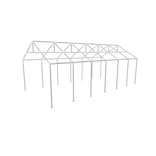 XINGLIEU Tente Cadre Cadre en Acier pour Tente de réception Structure en Acier de Remplacement Tente Cadre pour Tente de réception 12 x 6 m