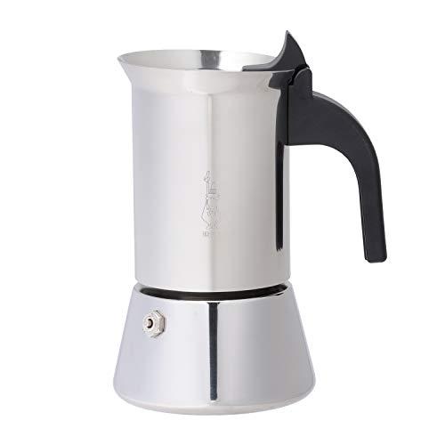 Bialetti Venus 4 Tassen Espressokocher/Induktion / Edelstahl