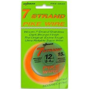 Drennan 7Stand Stahl - 1x7 - 15 m - Tragkraft 12 lb -