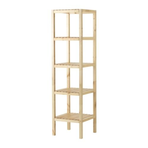 IKEA MOLGER - Shelving unit birch