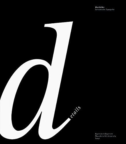 Pictowords: Semantic Typography - Allemand/Anglais/Japonais
