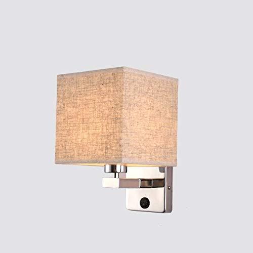 GaLon Lámpara de cabecera con lámpara de Pared de Lectura LED con...