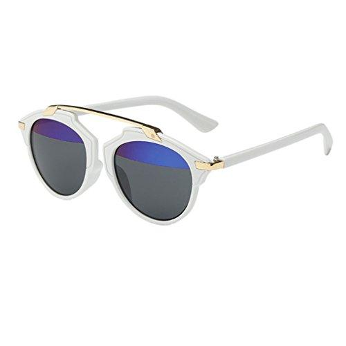 Junecat Frauen Männer Vintage-Sonnenbrillen Outdoor-Brillen Brillen Kunststoff-Rahmen