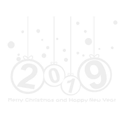 BESTOYARD Sticker vitre de Noel Sticker Mural Nouvel an Amovible Joyeux Noel Decoration (Blanc)