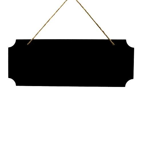 l / Schild zum Aufhängen und beschriften - 40 x 15 cm, rechteckig - Holztafel / Hochzeitsschild / Hochzeitstafel / Tafel Hochzeit / Wegweiser / Memotafel / Kreidetafel (Hochzeits-tafel)