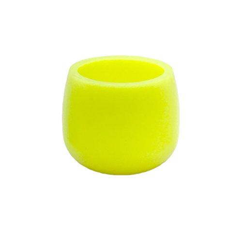 BRAND sseller–Vela LED de cera (–Vela sin llama–con luz titilante Incluye batería, Gelb - 2er Vorteilspaket, 2er-Vorteilspaket