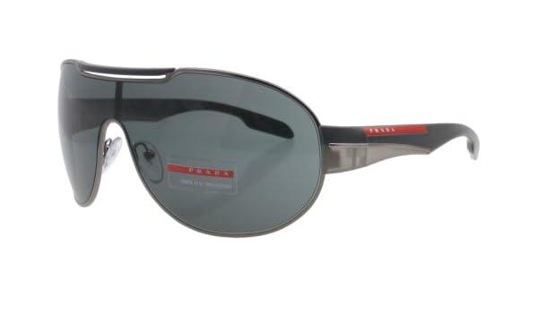 a2ed1ec8f3 Prada Sunglasses SPS 56N GREY 5AV-1A1 SPS56N  Amazon.co.uk  Sports    Outdoors