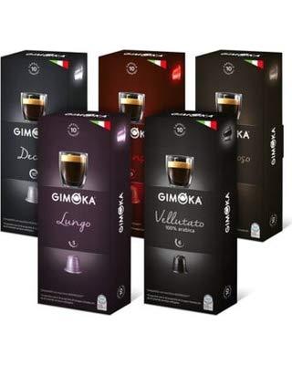 Capsule Nespresso Compatibili Gimoka 150 Pz Degustazione