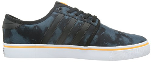 Adidas Seeley–Chaussures pour homme Negro / Azul / Naranja / Blanco