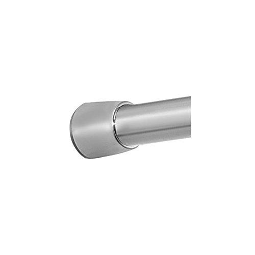 InterDesign Forma - Barral de tensión para cortina de ducha - Medio - Acero inoxidable pulido - 109-190 centímetros