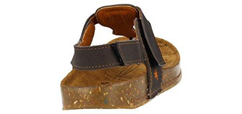 ART 0865 Olio We Walk, Sandali con Cinturino alla Caviglia Unisex – Adulto Nero
