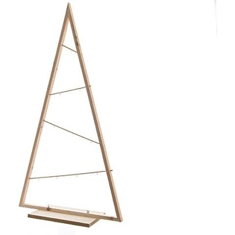 Árbol de Navidad de madera 68x 24x 130cm adornos adornos casa