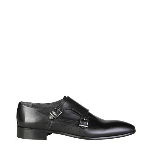 V 1969 - HERVE_NERO Chaussures Pour Hommes Avec Double Boucle Monk Strap