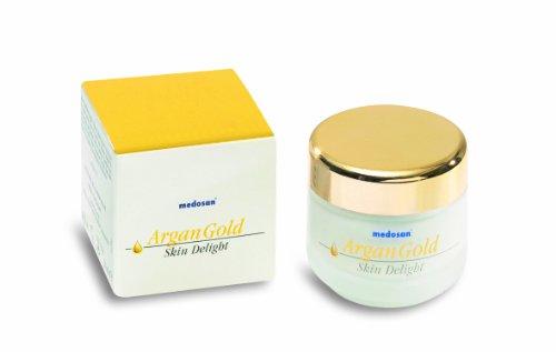 Argan Gold Skin Delight, 50 ml, Gesichtscreme mit Arganöl von Medosan