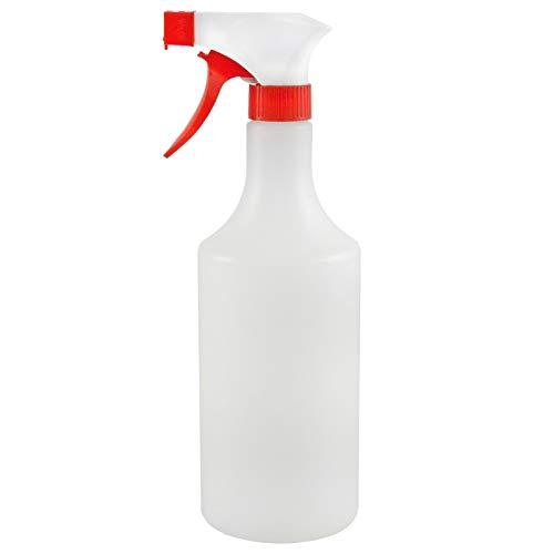 Preisvergleich Produktbild ABACUS HANDSPRÜHFLASCHE mit SPRÜHKOPF (7119) - 1x Handsprüher HDPE Flasche 750 ml + 1x Sprühkopf + Schaumaufsatz - Reinigungsmittel verdünnen Sprüher lösemittelbeständig Sprühflasche