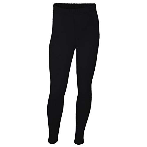 TupTam Mädchen Leggings Lang Blickdicht Baumwolle , Farbe: Schwarz, Größe: 134