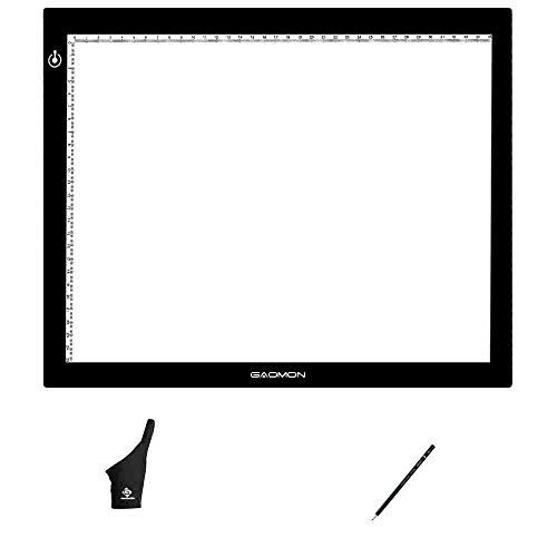 GAOMON GB4 Mesa Luz Dibujo B4 5MM Ultrafino Tableta