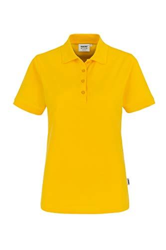 """HAKRO Damen Polo-Shirt \""""Classic\"""" - 110 - sonne - Größe: 3XL"""