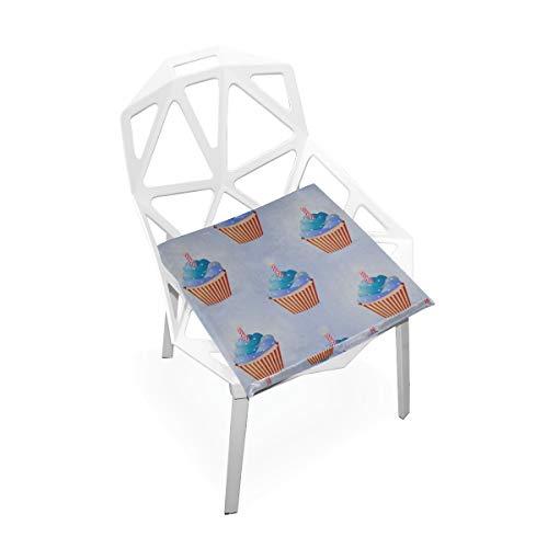 arme Komfort Benutzerdefinierte Weiche rutschfeste Platz Memory Foam Stuhlkissen Kissen Sitz Für Home Küche Esszimmer Büro Schreibtisch Möbel Innen 16x16 Zoll ()
