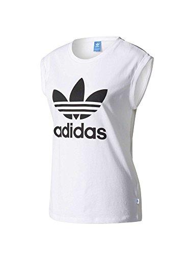 adidas-Damen-Boyfriend-Trefoil-Ru-T-Shirt