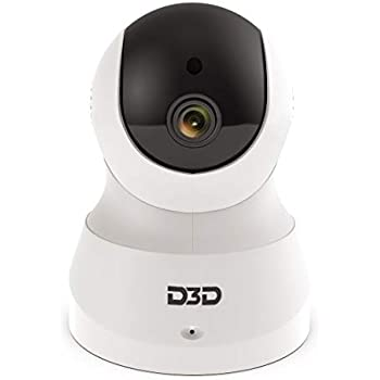 Buy D3D D8801 HD 720P WiFi Home Security Camera 360 PTZ (Black