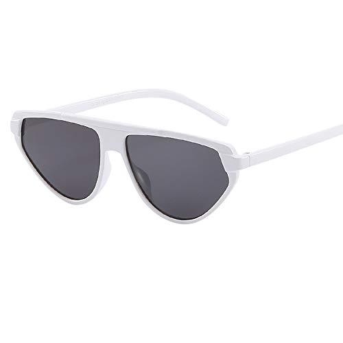 PinkLu GläSer Damen Big Cat Eye Sonnenbrillen Flut PersöNlichkeit Brille Schatten Sonnencreme Beliebt Kompakter Rahmen Mode Temperament Sommer Neuer HeißEr Verkauf 7-Farbige Brille
