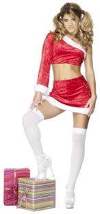 Erwachsene Fieber Santa's Little Helper Kostüm (One Size) ()