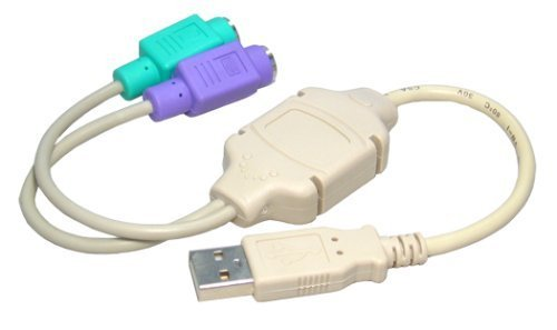 Max Value USB PS/2 Adaptor, Prodvides connection for Keyboard and Mouse