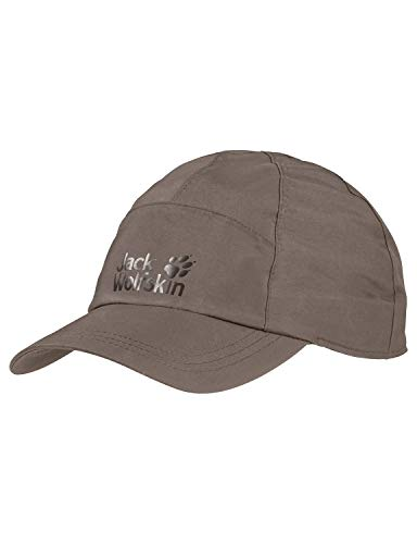 Jack Wolfskin Damen Kappe Texapore Baseball Cap, Siltstone, M