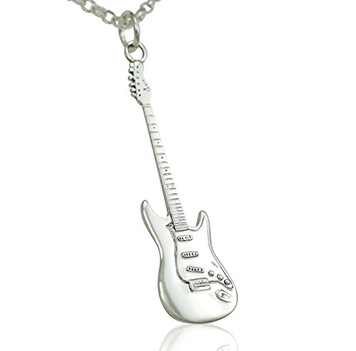 large-vertical-solid-sterling-silver-fender-stratocaster-electric-guitar-pendant-necklace-chain-jewe