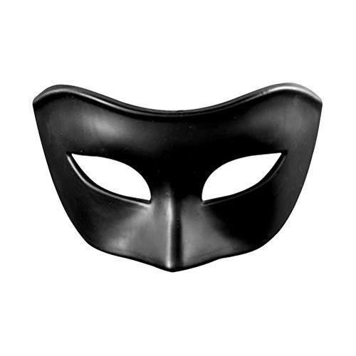 Zhhlaixing Maske Mens Frau Venezianische Partei Maskerade Maske Griechisch Römische Halloween Maske Mardi Gras Mask Phantom Der Oper Dekoratives Gesicht Venezianische Maske im klassischen Mattstil