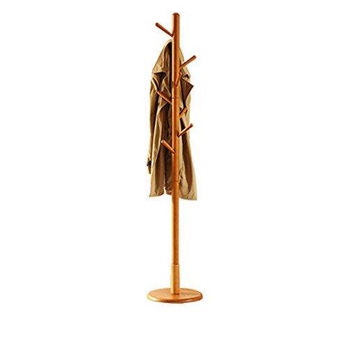 PP Perchero/Perchero Perchero de Madera Maciza Perchero Moderno Minimalista Hogar Dormitorio Sala de Estar Percha 180 * 36 CM Perchero Pang Pang (Color : A)