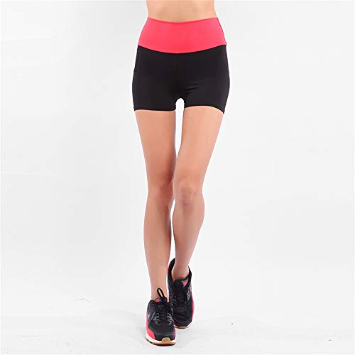 Damen Hot Pants Gym Yoga Shorts Tanz Zyklus Sport Fitness Stretch Mini Shorts Hc-combo