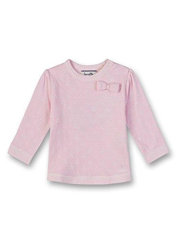 Sanetta Baby-Mädchen Sweatshirt, Rosa (Magnolie 3609.0), 74 -