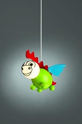 """40229-55-10 Massive Holzpendel """"Drakey"""" Kinderzimmerlampe Deckenlampe für Kinderzimmer Lampe Kinderlampe von Massive auf Lampenhans.de"""