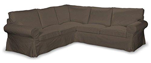 Franc-textil 640–705–08ektorp divano angolare rivestimento, etna, marrone