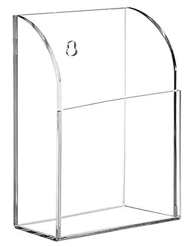 Tv set up box condizionatore d' aria riscaldamento hotel spa classe camera da letto sala riunioni ufficio telecomando universale del supporto in acrilico trasparente, 1 compartimento