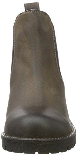 Unbekannt - 264 484, Stivali Chelsea Donna Grau (Dk. Grey Lea)