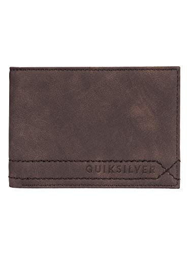 Quiksilver Stitchy - Cartera para Hombre, Chocolate Brown, S