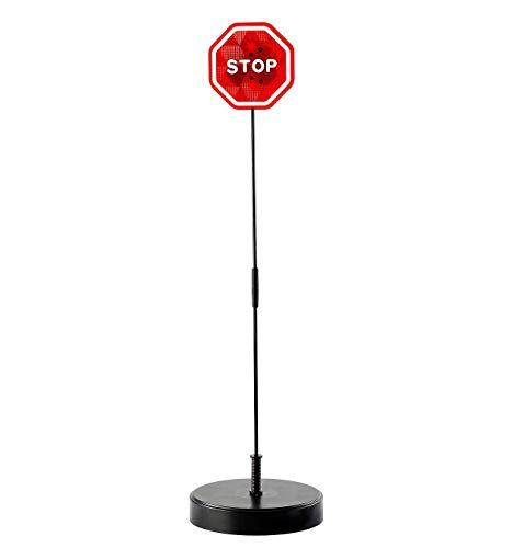 Blinkendes LED-Stoppschild-Garagen-Parkassistenz-System, Lichter Blinken, Wenn Auto Kontakt Mit Zeichen Für Irgendeine Garage Und Unerfahrenes Fahren Herstellt