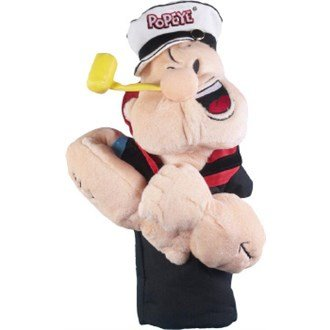 Masters Big Headcover/Driver Cover - Popeye der Seeman -
