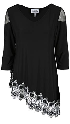 Joseph Ribkoff Tunic Black/White 191309