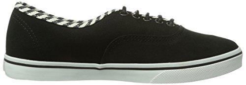 Vans - U Authentic Lo Pro (Hickory Stripe, Sneaker basse Unisex – Adulto Nero (Schwarz ((Hickory Stripe EGZ))