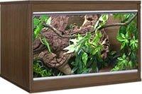 """Vivexotic LX24 Walnut Reptile Vivarium Tank 24"""" (sml)"""
